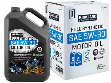 For Sale by Owner: Full Synthetic SAE 5W-30 Motor Oil - 2Pack